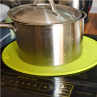 Wholesale Circle high temperature induction cooker silicone pad silica gel heat pad pot holder anti hot pad diameter cm