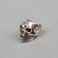Wholesale New Punk Vintage Skull Stud Earrings Silver Fashion Jewelry Unisex Earrings Clip on amp Screw Back A