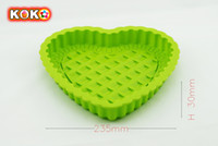 Wholesale Heart DIY Silicone Cake Mold baking mould bakeware decoration molds silicone
