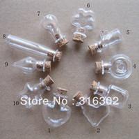 Wholesale ml Mini Unique Shaped bottle cc handmade glass bottle