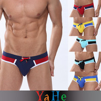 Wholesale sale bikini sexy men underwear new fashion style trunks panties lingerie mens size M L XL MU1009A