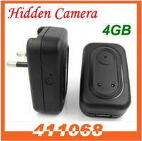 4G No  4G memory Real travel charger Hidden mini dvr vedio camera recorder motion detection QQTSM1044