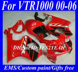 Motorcycle Fairing body kit for HONDA VTR1000 SP1 RC51 2000 2003 2006 VTR 1000 01 02 03 05 06 Fairings Bodywork HX93