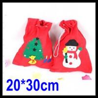 Wholesale 20PCS Christmas Gift Bags Santa Claus Christmas Eve Candy Bag Children s Gift Bags Wedding Decoration Ornament cm