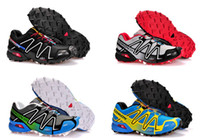 Men Cotton Fabric TPR free shipping top quality!2013 new men salomon sneakers salomon hiking boots salomon outdoor running shoes training shoes size 40-46