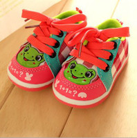 Unisex Spring / Autumn Cotton 30%off 14-18 yards, cartoon casual shoes! Plaid slip soft soled shoes, toddler shoes cheapsale baby wear china shoes online 5pairs 10pcs ZL
