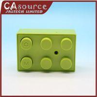 Wholesale Mini Spy camera Toy Building Blocks Hidden Cam Digital DVR Video Camcorder HD DV support TF Sample
