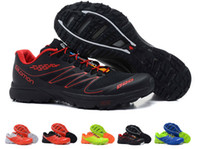 Wholesale top quality new men SALOMON sneakers shoes salomon running shoes outdoor training shoes size
