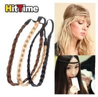 arrival hair braids - New Arrival Fashion Pretty Girl Plait Braided Hair Head Band Plaited free shippping