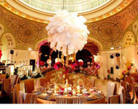 Wholesale CM white ostrich feather wedding centrepiece ostrich feather ostrich plume