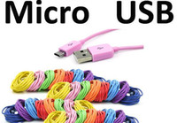 For Samsung   300pcs Colorful 3M V8 Charger Adapter 10FT Micro 5 pin USB Data Cable Cord for Samsung Galaxy S3 S4 HTC Nokia Free DHL Fedex