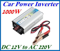 Wholesale 1000W Car auto Truck USB DC V to AC V Power Inverter Adapter Converter LED CHINA
