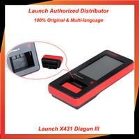 Wholesale 2014 New arrival original LAUNCH Auto Scan Tool X431 Diagun III dhl update on line original x diagun iii In stock