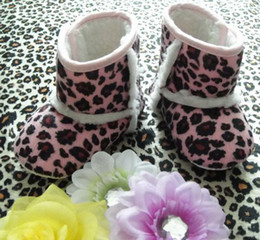 Cute baby boots Infant girls toddler baby shoes Leopard print boot Children Winter Boots Baby First Walker Shoes 8 colors 12 pairs lot