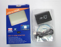 Adapter hdmi to usb converter - USB to HDMI Graphic Converter Adapter Cable for TV LCD pc with audio support p