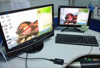 Wholesale USB to HDMI Converter Adapter HDTV Projector p for all kinds of CRT and LCD monitors