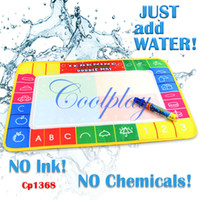 aquadoodle mats sale - Christmas gift for CHildren holiday sale In Stock CP1368 X29cm Water Doodle Mat with Magic Pen Drawing Toys Mat Aquadoodle Drawing Mat
