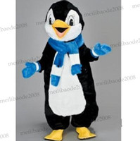 Wholesale new cute penguin mascot Costume Cartoon carnival party Halloween MYY5684