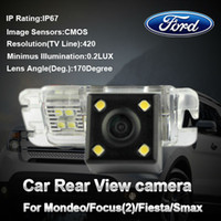 Wholesale waterproof CMOS car special camera reverse backup rearview for Ford Mondeo Focus Fiesta S Max with wide view angle