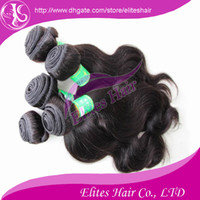 Wholesale HOT quot quot Indian virgin remy Human hair weave weft extensions Body wave B Mix Size IH405