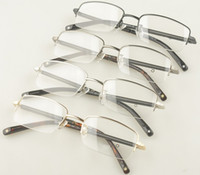 Wholesale MB Brand Optical frame MB149 half Rim metal Glasses frame with original packing size mm