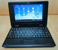 Wholesale 8850 laptop netbook Andriod Mini Laptop inch Via wifi M GB Camera HDMI Netbook Drop Ship