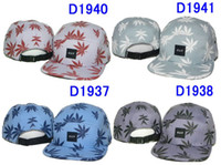 Wholesale Hot sale HUF HATS snapback hat hats baseball cap huf caps Snap backs Adjustable Huf Hats Black Pink Yellow EMS