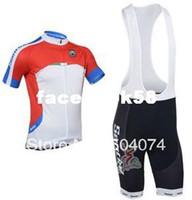 Wholesale 2013 NEW Santini bib short sleeve cycling jerseys wear clothes bicycle bike riding jerseys bib pants shorts