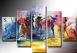 Hand-painted oil paintings, music, painting decorative art products