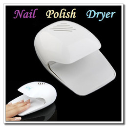 Wholesale High quality Portable Finger amp Toe Fast Nail Polish Blower Dryer White Dropshipping
