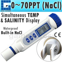 auto ranging - 837 Waterproof Pen type Digital Salinity Meter with Multiple Calibration Points ppt AUTO MANUAL Ranging TOUCH Calibration