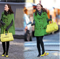 Wholesale Hot Selling Gossip Girl QueenB Coat Clothes Clothing Fashion Cloak CoatS Shawls Overcoat Vogue Outwear