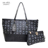 Wholesale MCM New women messenger bag leather handbags brand handbag designer handbags high quality bolsas clutch Totes