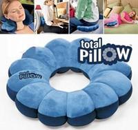 Wholesale Neck Head Body Rest massage Twist Distorted Travel Versatile Plum Flower Cushion Pillow Multifunction Versatile Neck Massage