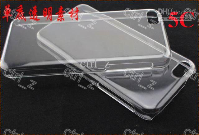 Buy 2016 iphone 5se Hard Plastic PC clear crystal transparent Ultra Thin back cover case 5 5C 5S