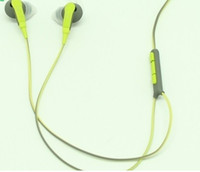 Wholesale YJ Free DHL SIE2I In Ear Headphones Sport Earphones SIE2i with Micrphone Control MIC With box Arm band In Ear For Mp3 Mp4 Player