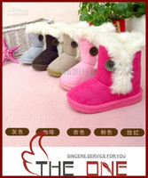 Wholesale children popular slip proof snow boots Children s cotton boots drizzling warm boots