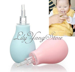 Wholesale Newborns Nasal Mucus Suction Nose Aspirator Soft Tip Runny Baby Cleaner Vacuum