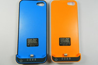 Wholesale 2200mah iphone Battery case charger case External Backup power bank for Apple iphone
