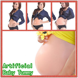 Wholesale Artificial Silicone Tummy Big Belly Fake Belly Doll For False Pregnancy New Hot Sell