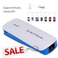 Wholesale 3G Wi Fi Wireless Router mAh Mobile Power Bank Wireless Mini Wifi AP Triple