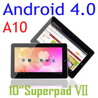 Wholesale 10 Inch Flytouch Android Tablet Pc A10 GPS HDMI Infortm Ghz GB Wifi Webcam