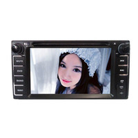Wholesale 6 Inch Two Din Car DVD Player GPS Navigation IPOD for Toyota runner ota Highlander FJ Cruiser Toyota Prado Camry H409