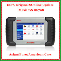 Wholesale Original Autel MaxiDas DS708 Automotive Diagnostic Analysis System OBD EOBD Scanner For Euro Asian American cars