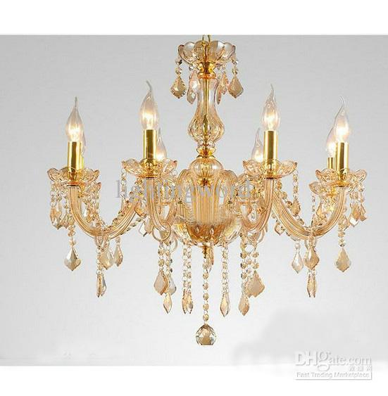 Modern Art Deco K9 Crystal Glass Chandelier Pendant Light