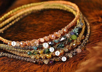 Wholesale Newest Vintage Colorful Crystal rhinestone Hairband Headband JH6046