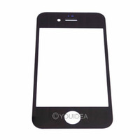 Wholesale Black White Touch Screen Outer Glass Replacement for iPhone G digitizer lcd touch Lens Free Tools