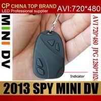 Wholesale New Car Keys mini dv DVR Support TF Card hidden Camera spy camera