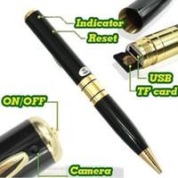 audio recorder pen - 16GB MINI HD DVR Audio Video Camera Recorder Spy Pen Cam Hidden DVR Camera NEW