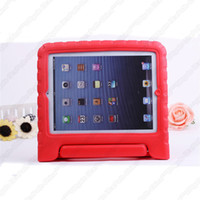 For Apple baby red skin - A2 EVA Kid Style Baby Children Shockproof For Apple ipad Protection Case High Quality Multicolors